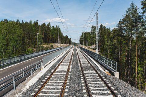 Sepelirataa Koivusenojan ratasillalla. Kuva Wille Nyyssönen.