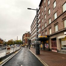 Jalankulkureitti muuttuu Hatanpään valtatiellä maanantaina 26.10.