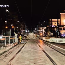 Rail installation for Tampere tramway completed and track work almost finished