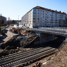Sepänkadun kautta kulkeva liikenne katkeaa 3.5. klo 7.00 – Raitiotieallianssi aloittaa Sepänkadun sillan uusimistyöt
