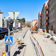 Traffic via Sepänkatu will be interrupted on 3 May – Tramway Alliance will start renovation work on the Sepänkatu bridge