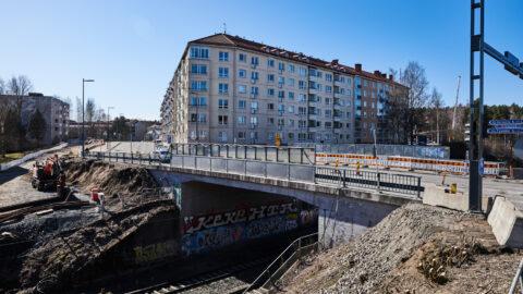 Sepänkadun silta. Kuva: Wille Nyyssönen