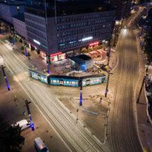 Raitiotieallianssin heinäkuu: Osan 1 viimeiset koeajot Hatanpään valtatiellä heinäkuussa – osalla 2 edetään kohti päällysrakennetöitä