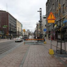 Hämeenkadun länsipään bussipysäkki poistuu raitioliikenteen alkaessa 9.8.