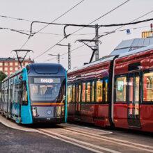 Raitiotien ensimmäinen osuus valmistuu etuajassa ja 34 miljoonaa euroa alle budjetin, liikenne alkoi 9.8.
