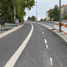 Raitiotietyöt osalla 2 etenevät – Paasikivenkadun pohjoispuolen uusi jalankulku-ja pyöräväylä kokonaisuudessaan käyttöön