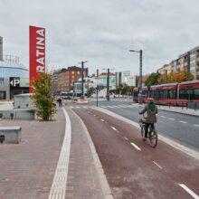 Pyöräväyliä käyttöön Hatanpään valtatiellä ja Paasikivenkadulla