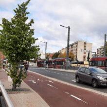 Raitiotien yhteydessä rakennetut jalankulku- ja pyöräväylät käyttöön Hatanpään valtatiellä sekä Paasikivenkadulla